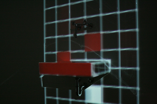 mayer+empl . kleines_k . interactive video mapping installation . munich . 2010