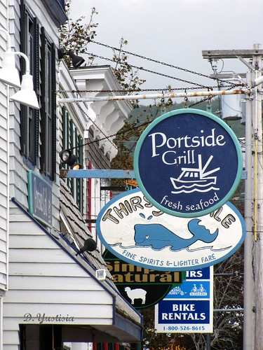 Bar Harbor's Store Signs