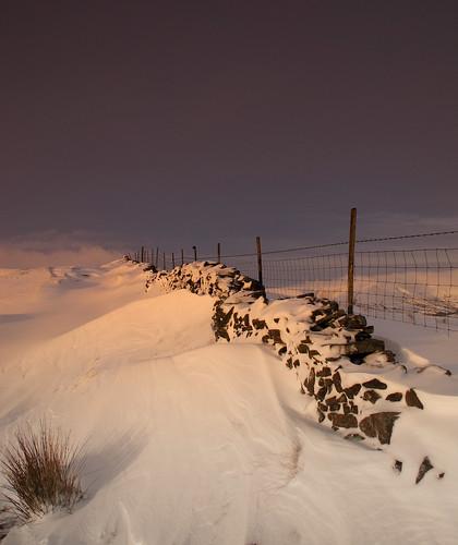 The Great Ridge wall