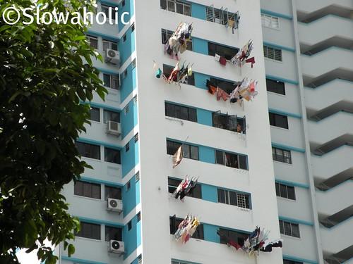 Sistem de uscat rufe. Singapore by slowaholic