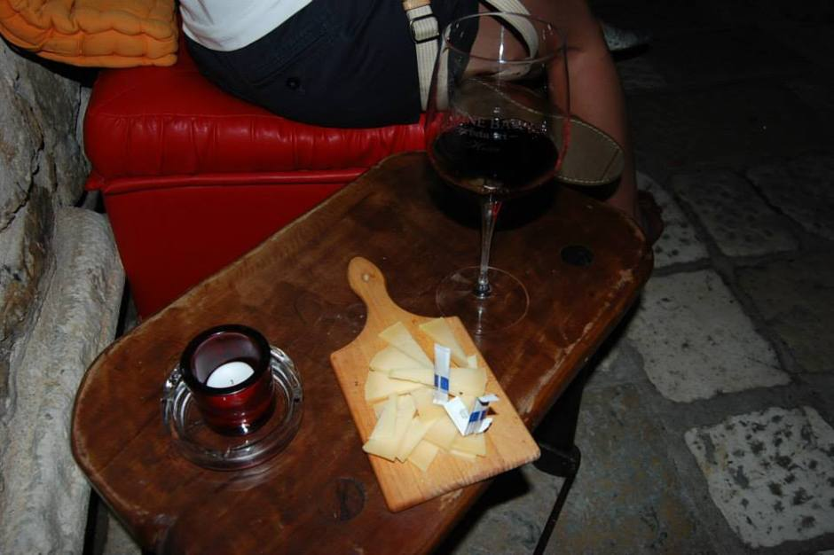 wine bar in Hvar