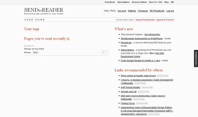 FireShot capture #045 - 'User home I SENDtoREADER' - sendtoreader_com_user