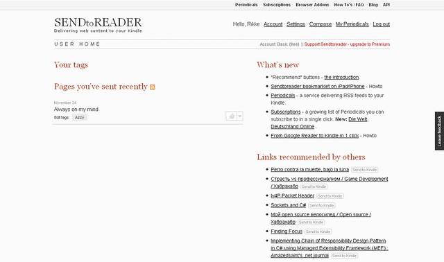 FireShot capture #045 - 'User home I SENDtoREADER' - sendtoreader_com_user