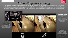Hivos proves a piece of tape can save energy