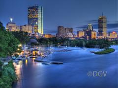 Boston Skyline@ Dusk