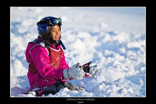 Snow Angel by Dad Bear