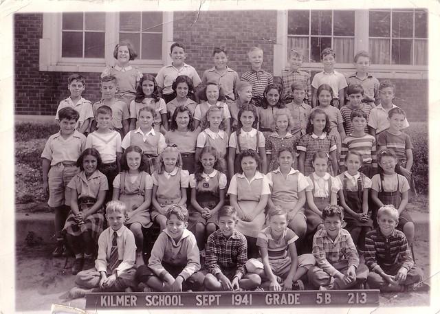 Sandra's 5th grade class 1941