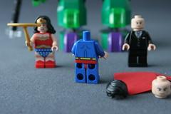 6862 Superman vs Power Armor Lex - Superman 3