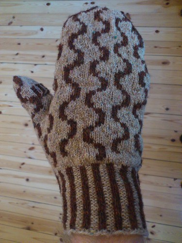 first wurst mitten finished