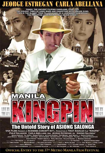 manila kingpin: asyon salongga poster