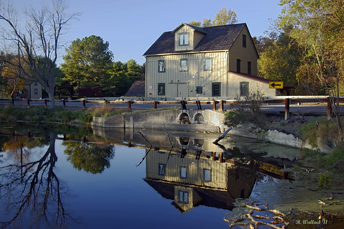 Abbott's Mill Reflection