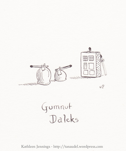 Gumnut Daleks