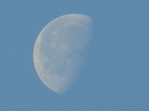 Daytime Moon  by Prasik