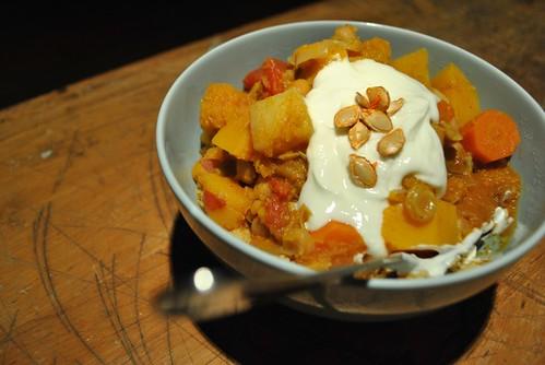 Vegetarian Moroccan Stew