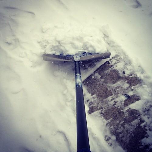 Everyday I'm shovelin'.