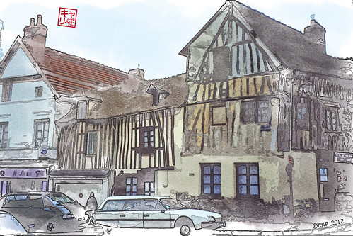 France Watercolor