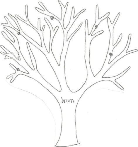 still:living: How to Make a Quiet Book: Seasons Tree
