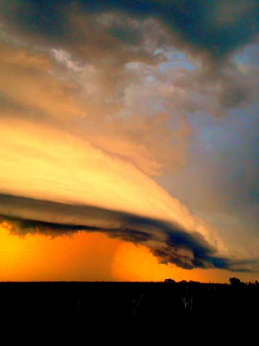 080711 - Nebraska Supercell / Arcus / Shelf Cloud!