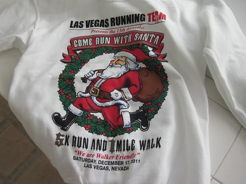 Come Run With Santa 5K Sweatshirt  - Front