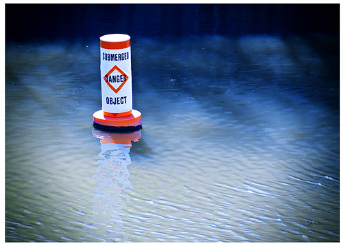 Submerged Danger Object