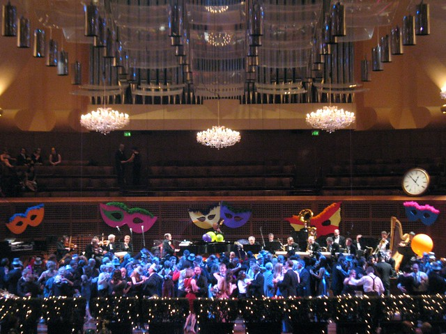 Dancing on the Davies Symphony Hall stage