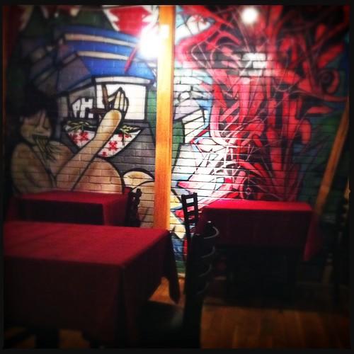 Inside Crazy Noodle, Memphis, Tenn.