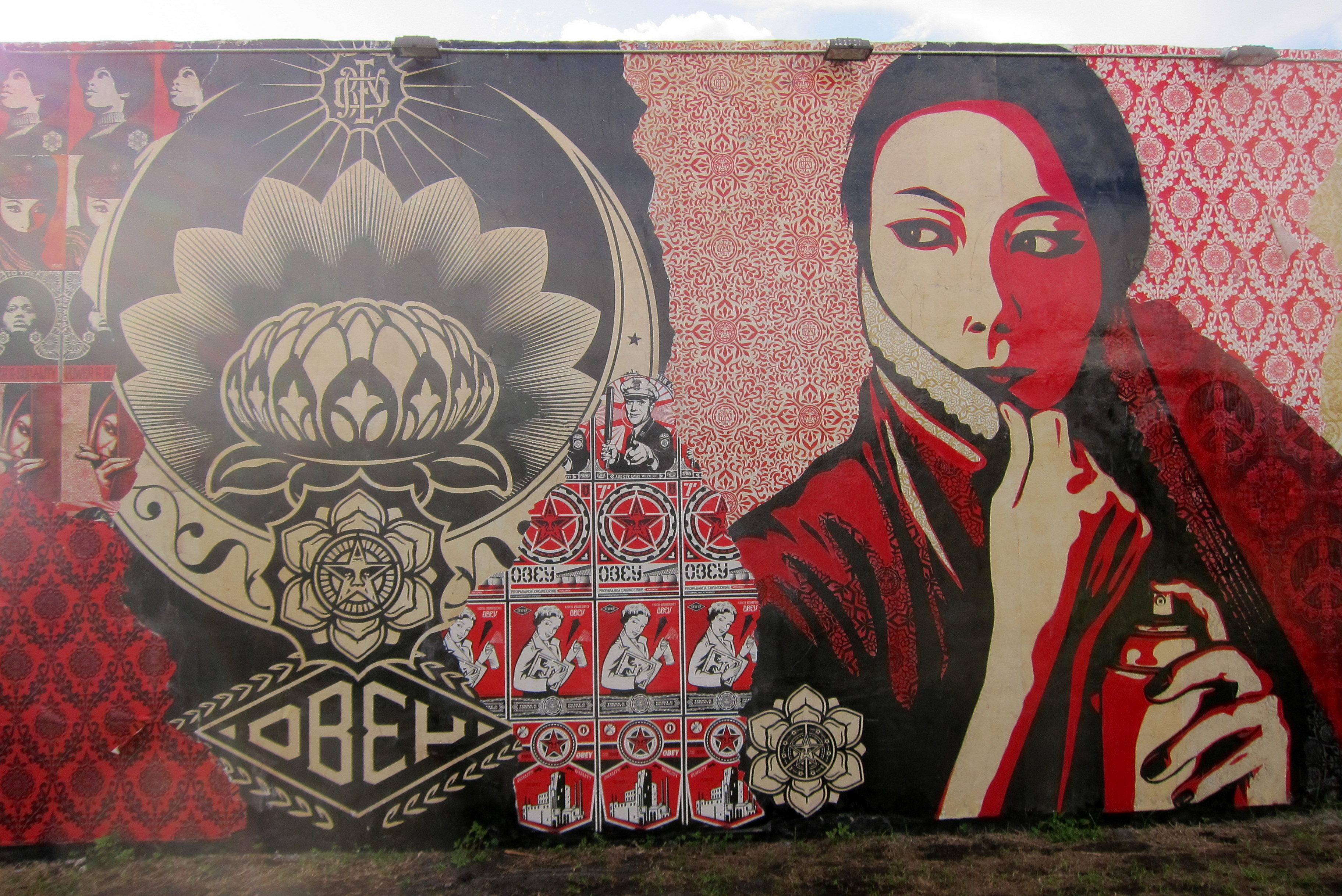 Miami Wynwood Wynwood Walls Wynwood Walls Shepard Faireys Commanda Flickr Photo Sharing