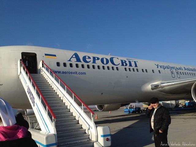 Aerosvit Boeing 767