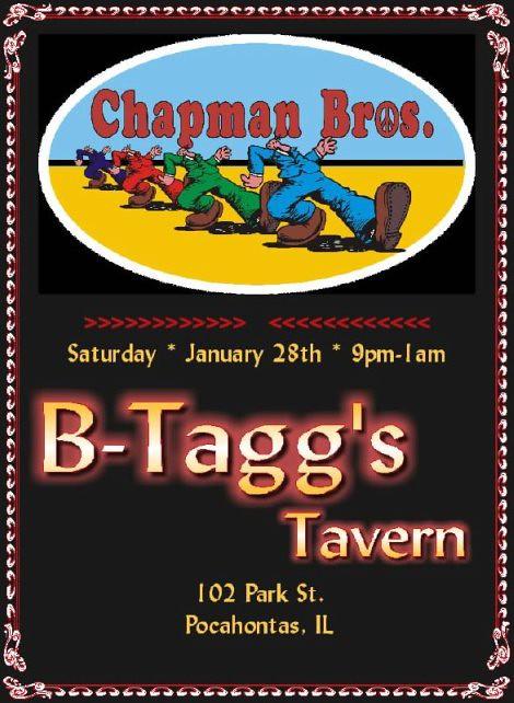 Chapman Bros B-Taggs 1-28-12, 9-1