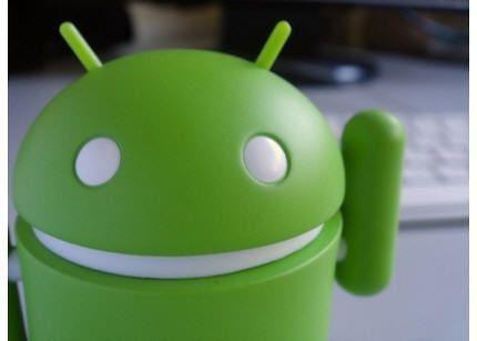 Android close up