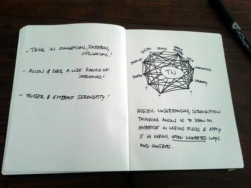 More scribbling.