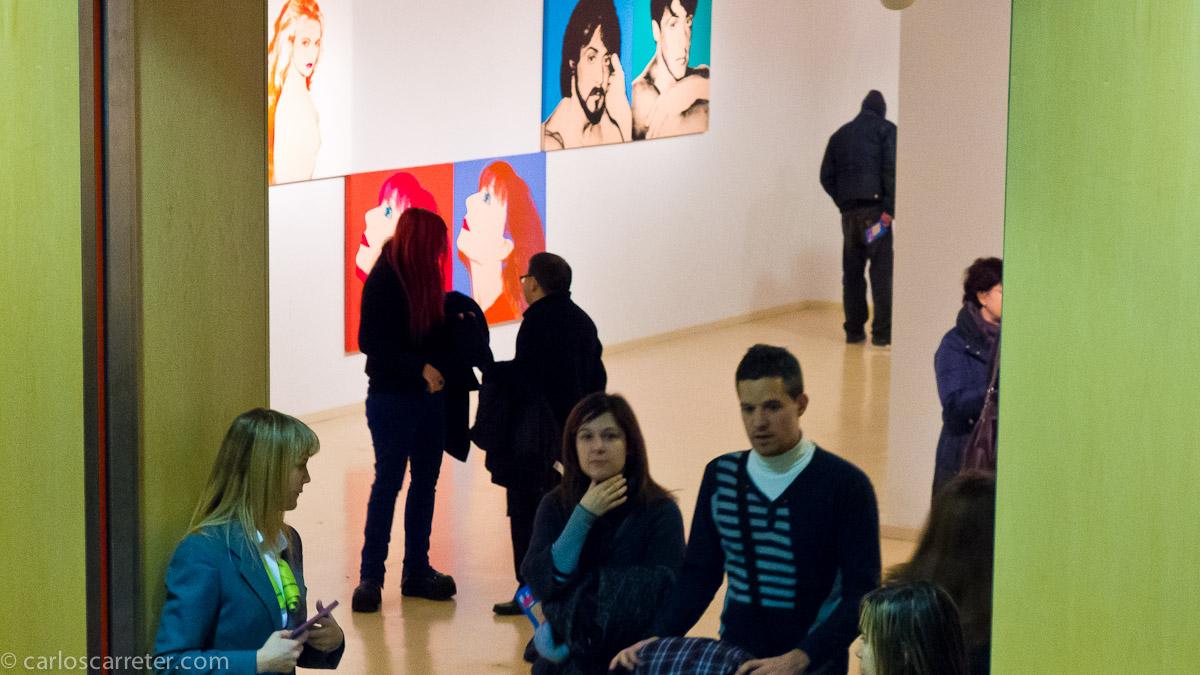 Exposición Warhol