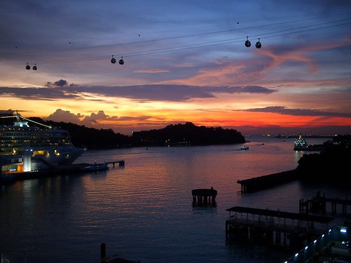 Penultimate Sunset of 2011, Singapore