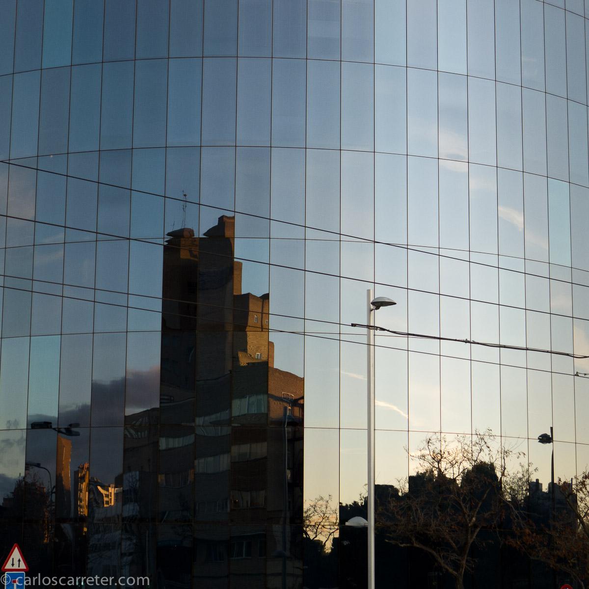Hospital reflejado