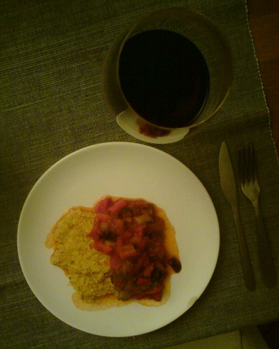 Polenta with Ratatouille by the real Caffeamore