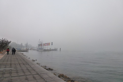 Bardolino in the foggy morning -7°C