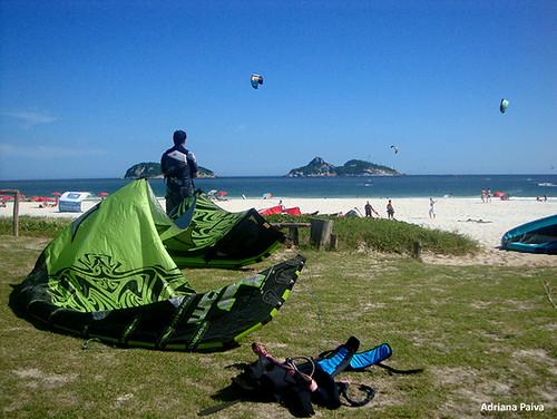 Kite Surf na Praia do Pepê