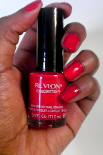 Revlon Colorstay Review Long Wear Nail Enamel Youtube