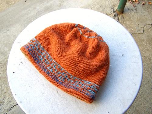 jeremiah's very warm hat