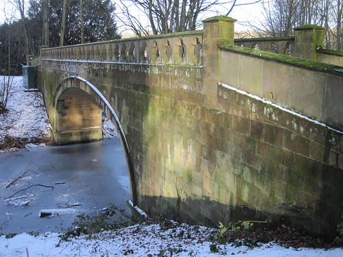 Hardwick Park - Serpentine Bridge