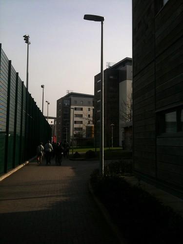 UWE accommodation block