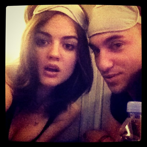 Lucy Hale and Scott Cunha