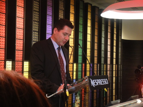 Renaud Tinel, General Manager for Nespresso Oceania