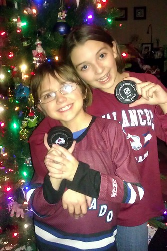 They got game...pucks, that is!