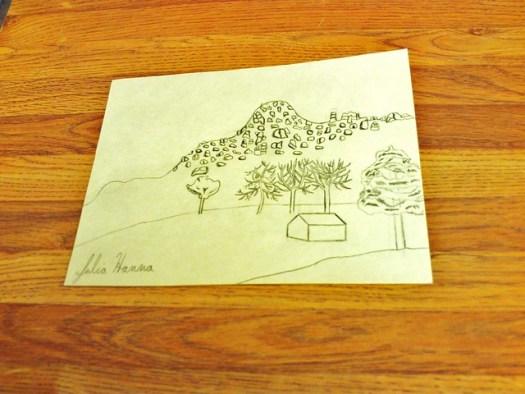 Drawing The Pinnacles