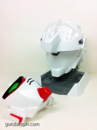 Banpresto Gundam Unicorn Head Display  Unboxing  Review (38)