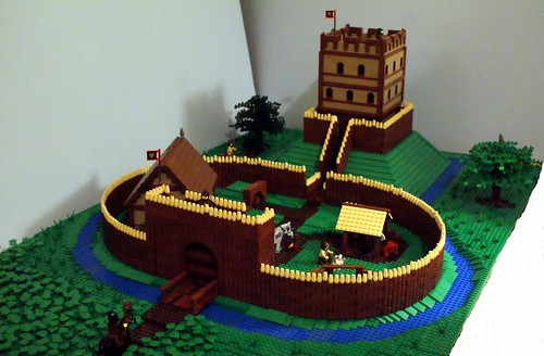 Wooden Castle - jimbo87 - Wolfpack Motte and Bailey