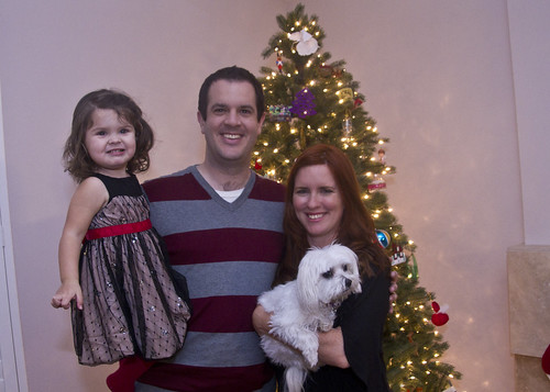 The Spohrs, Christmas 2011