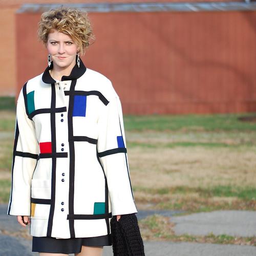 Mondrian Coat