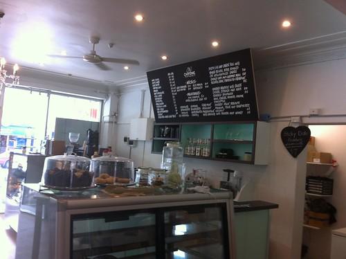 menu, my caffeine romance, kirrawee